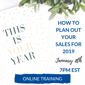 Sales and Marketing Webinar 2019
